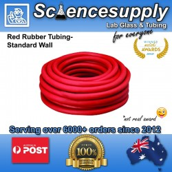 Red Rubber Tubing